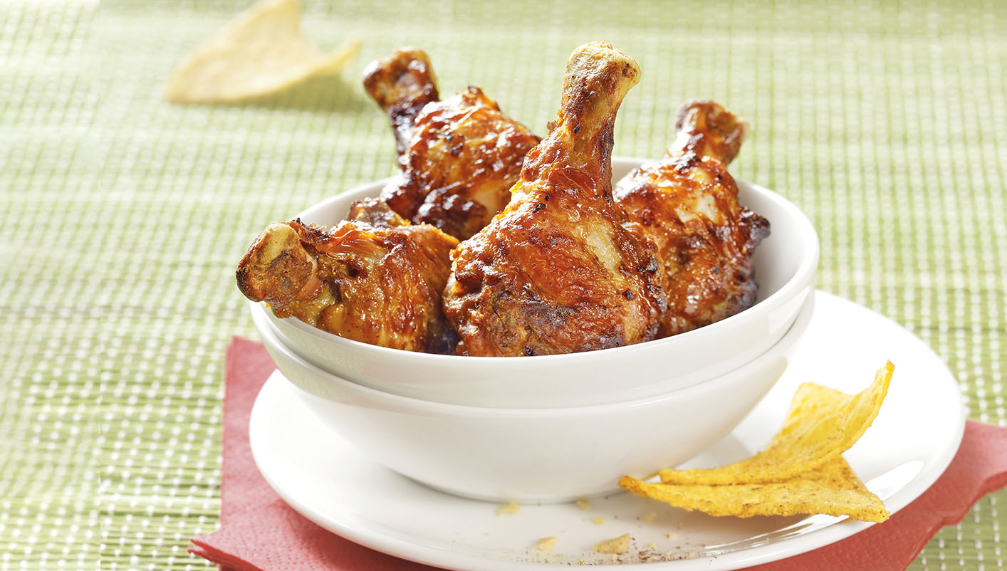 Manchons de poulet marinés Kébab