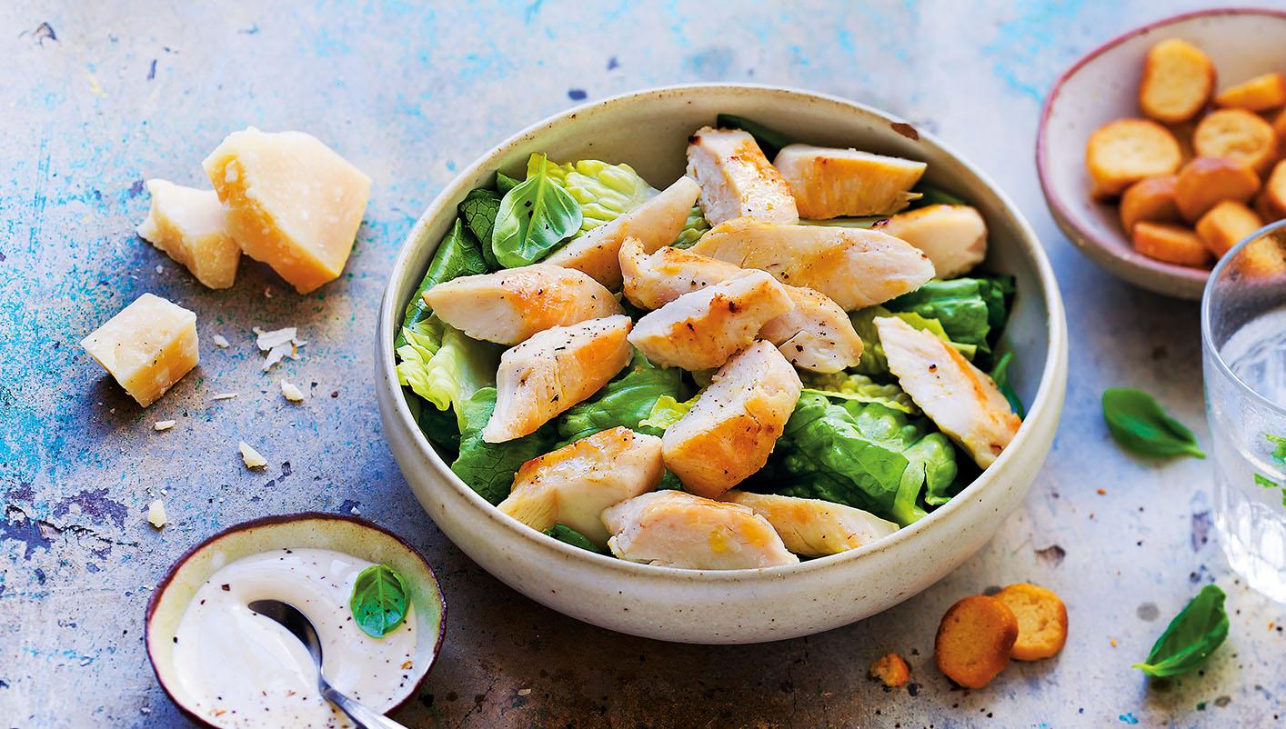 Aiguillettes de poulet coupées