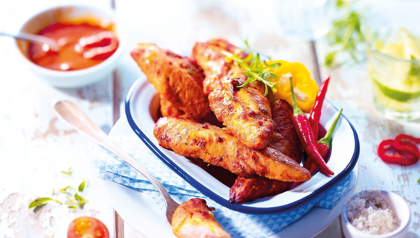 Aiguillettes de poulet marinées à la mexicaine