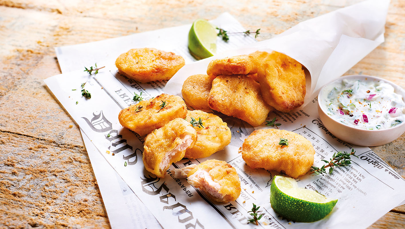 Nuggets de filets de poulet