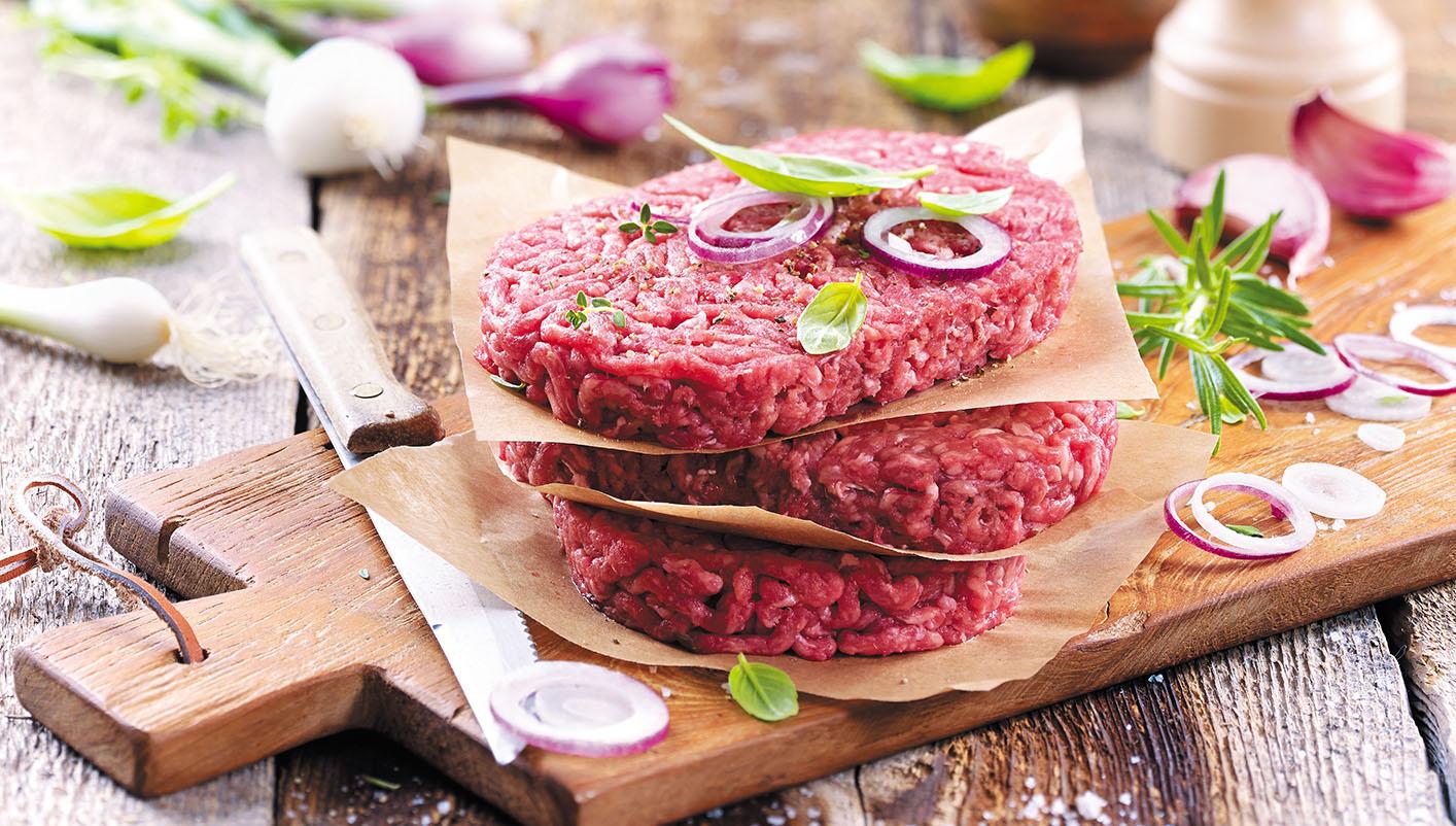 8 Steaks hachés pur boeuf 15% MG race Charolaise