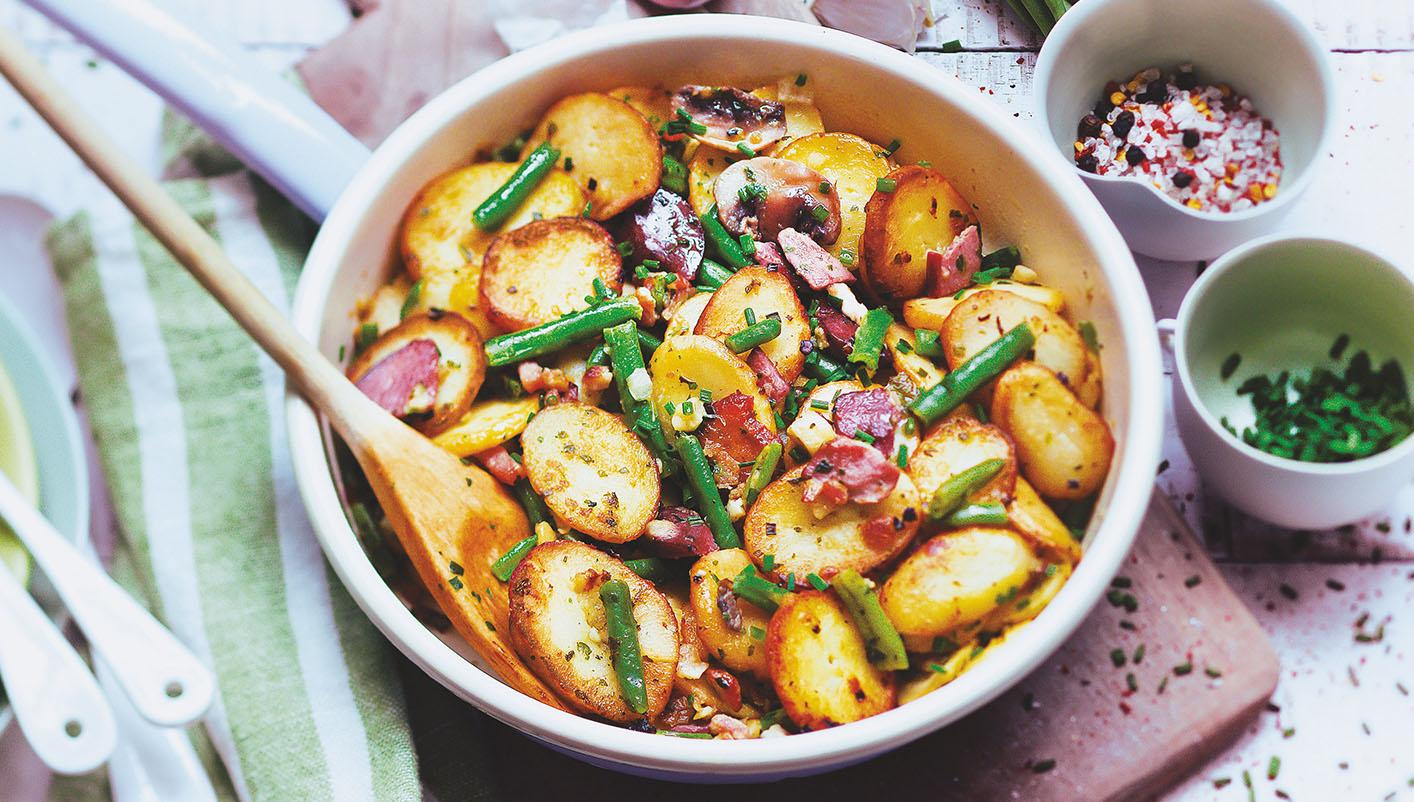 Pommes de terre à la périgourdine