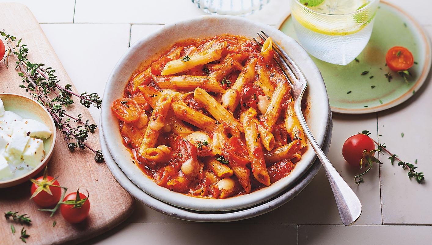 Penne sauce tomate et mozzarella BIO