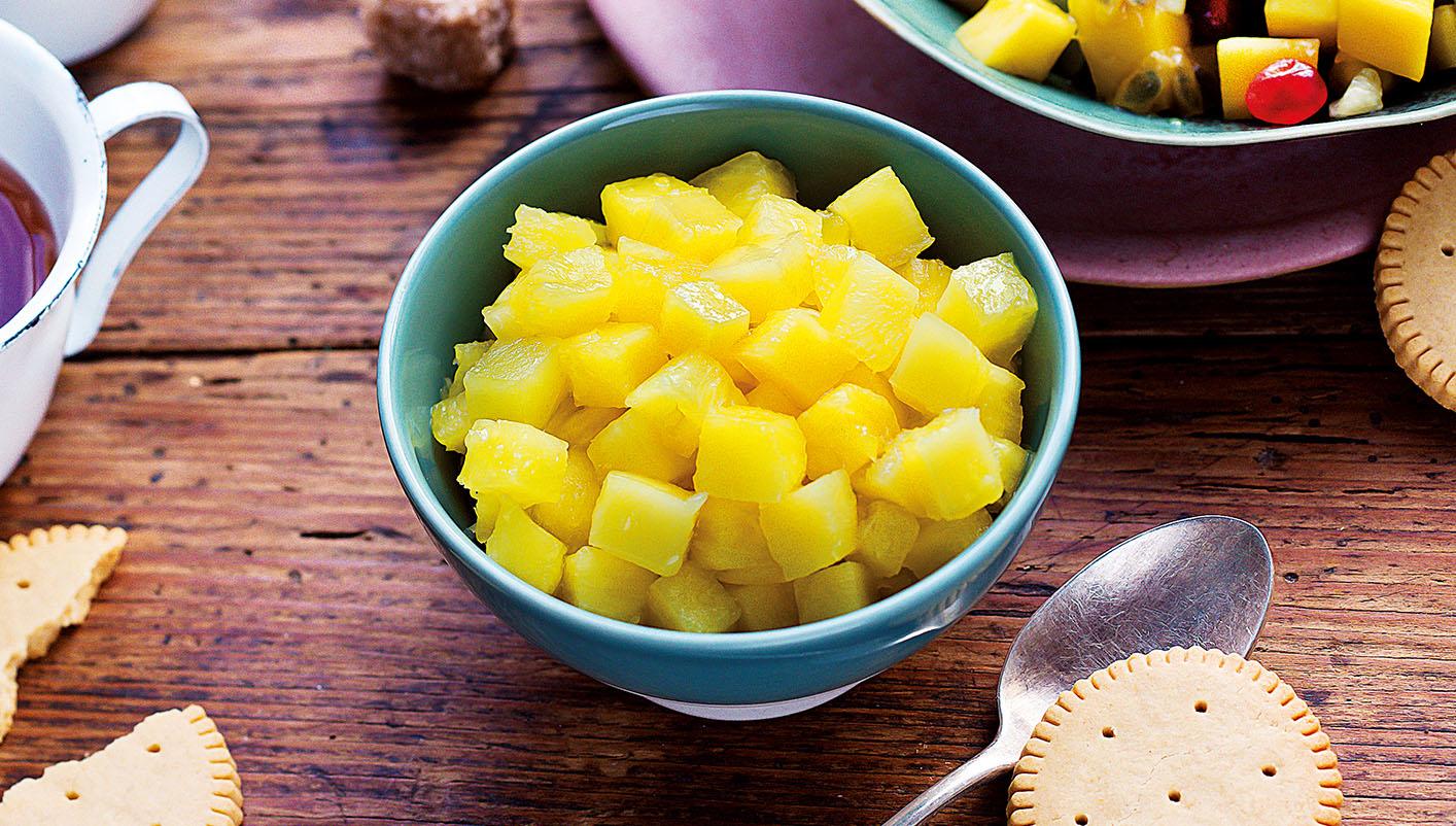Ananas Victoria en cubes