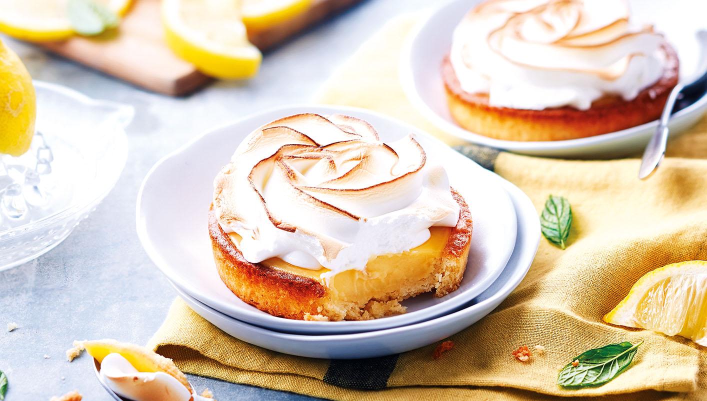 2 Tartelettes au citron meringuées