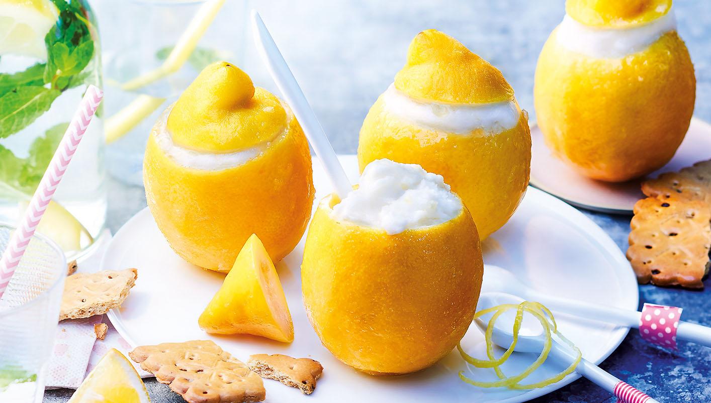 4 Citrons givrés