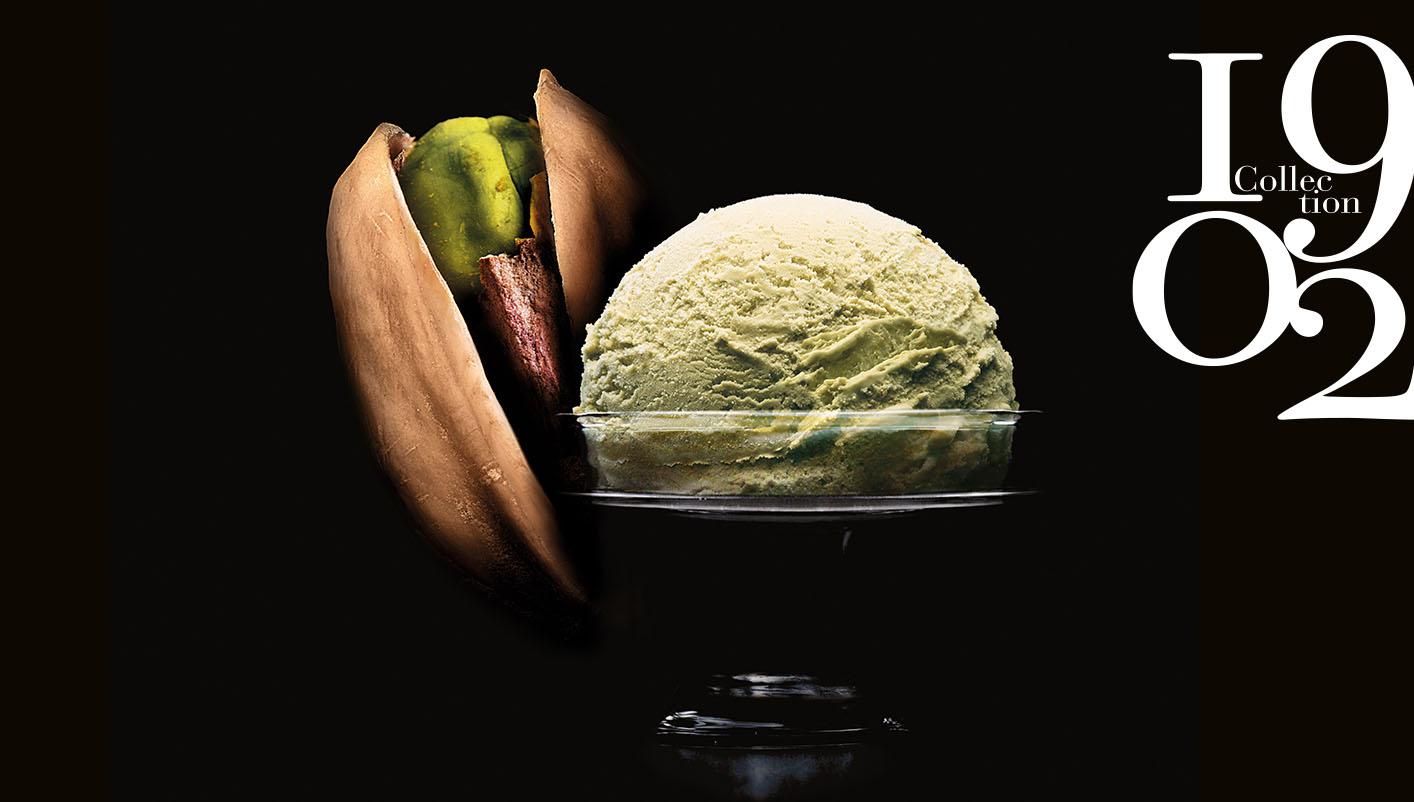 Crème glacée Pistache de Sicile Collection 1902