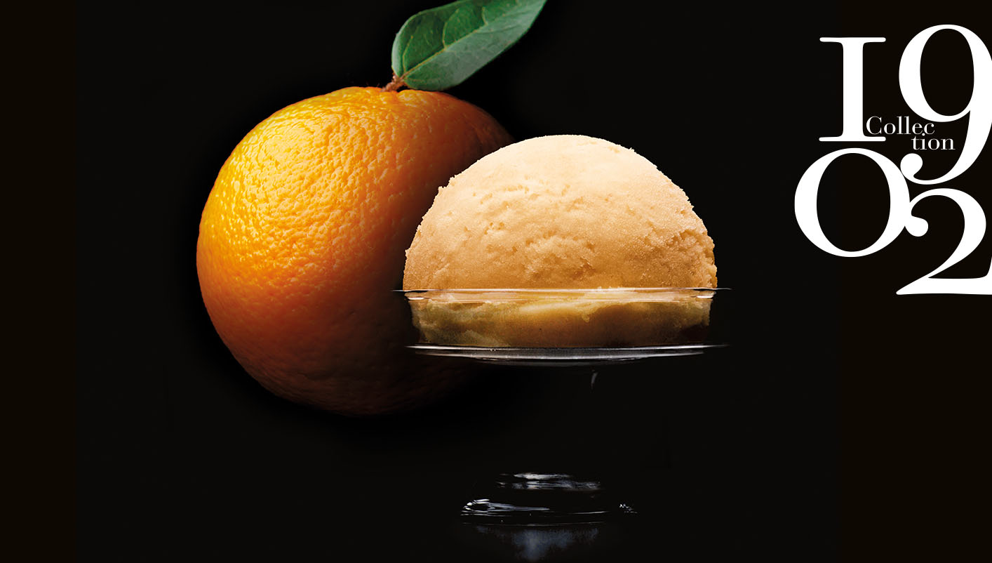 Sorbet Plein Fruit Mandarine de Sicile Collection 1902
