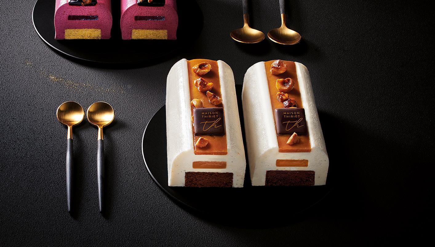 2 Délices pâtissiers vanille caramel