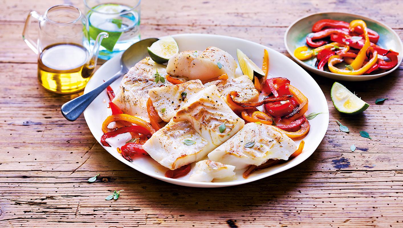 Filets de Cabillaud coupés en portions
