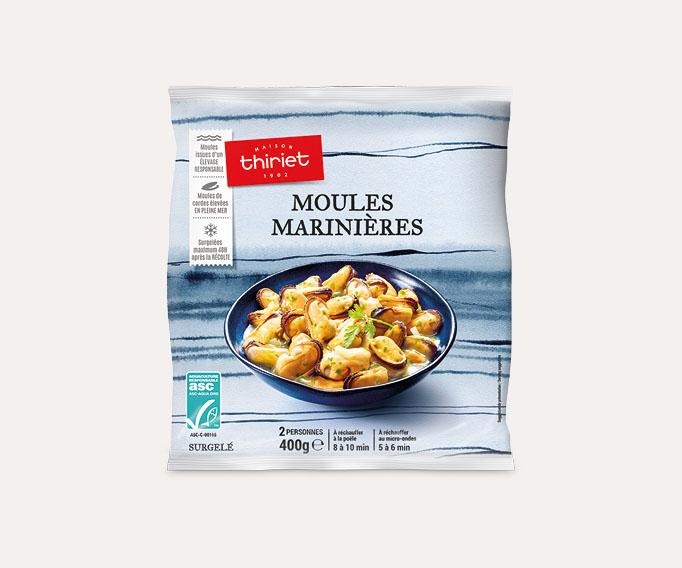 Moules marinières Lot de 2 sachets