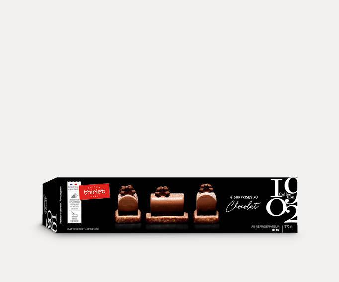 6 Surprises au chocolat