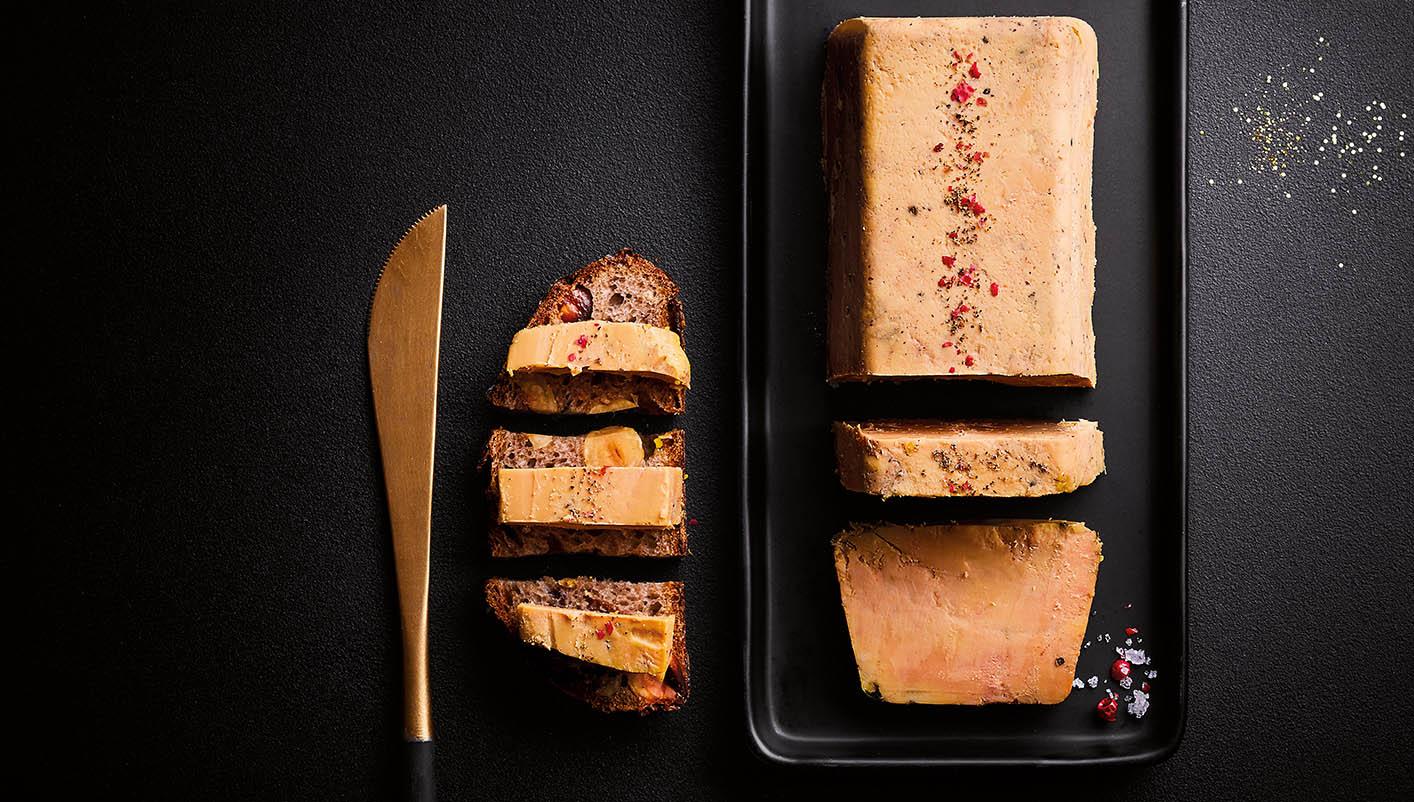 Foie gras de canard entier du Sud-Ouest à l'ancienne