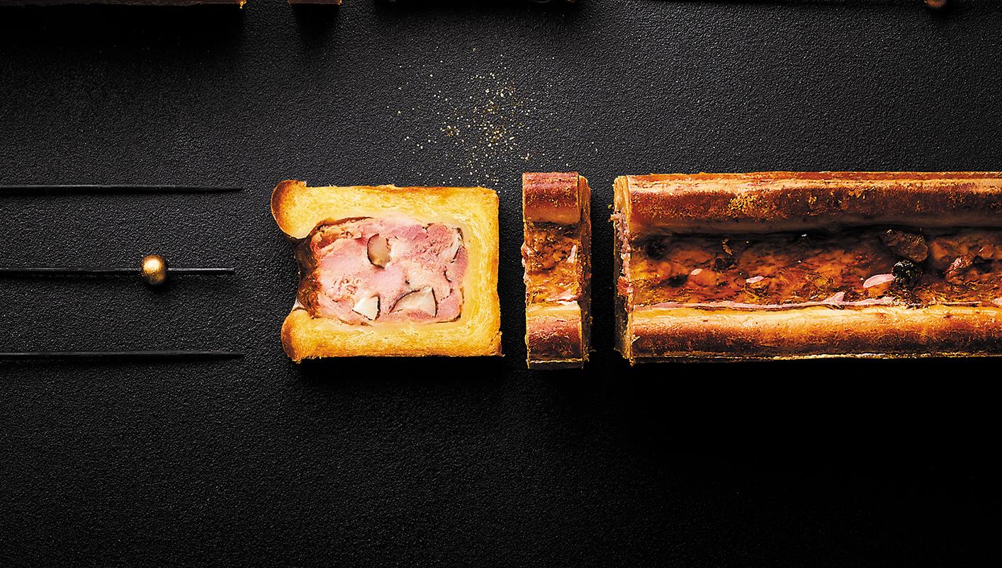 Mini pâté en croûte porc noisette