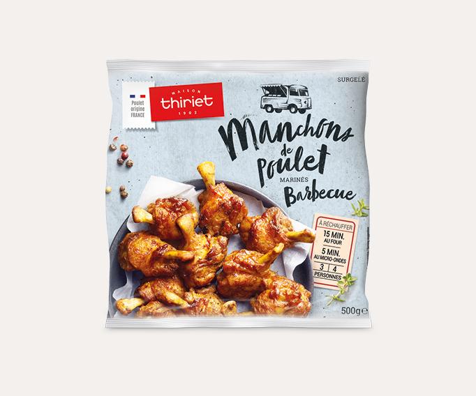 Manchons de poulet marinés Lot de 2 sachets au choix