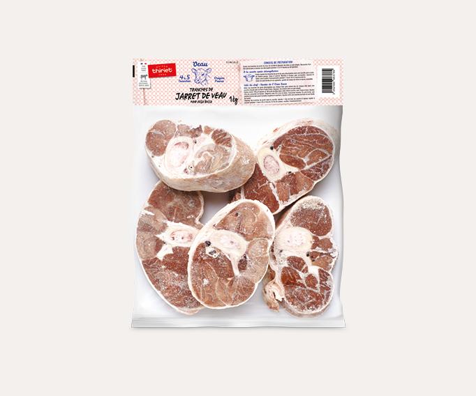 Tranches de jarret de veau pour osso bucco