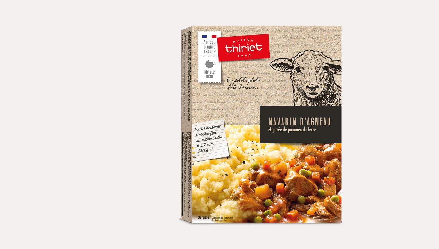 Navarin d'agneau et purée de pommes de terre