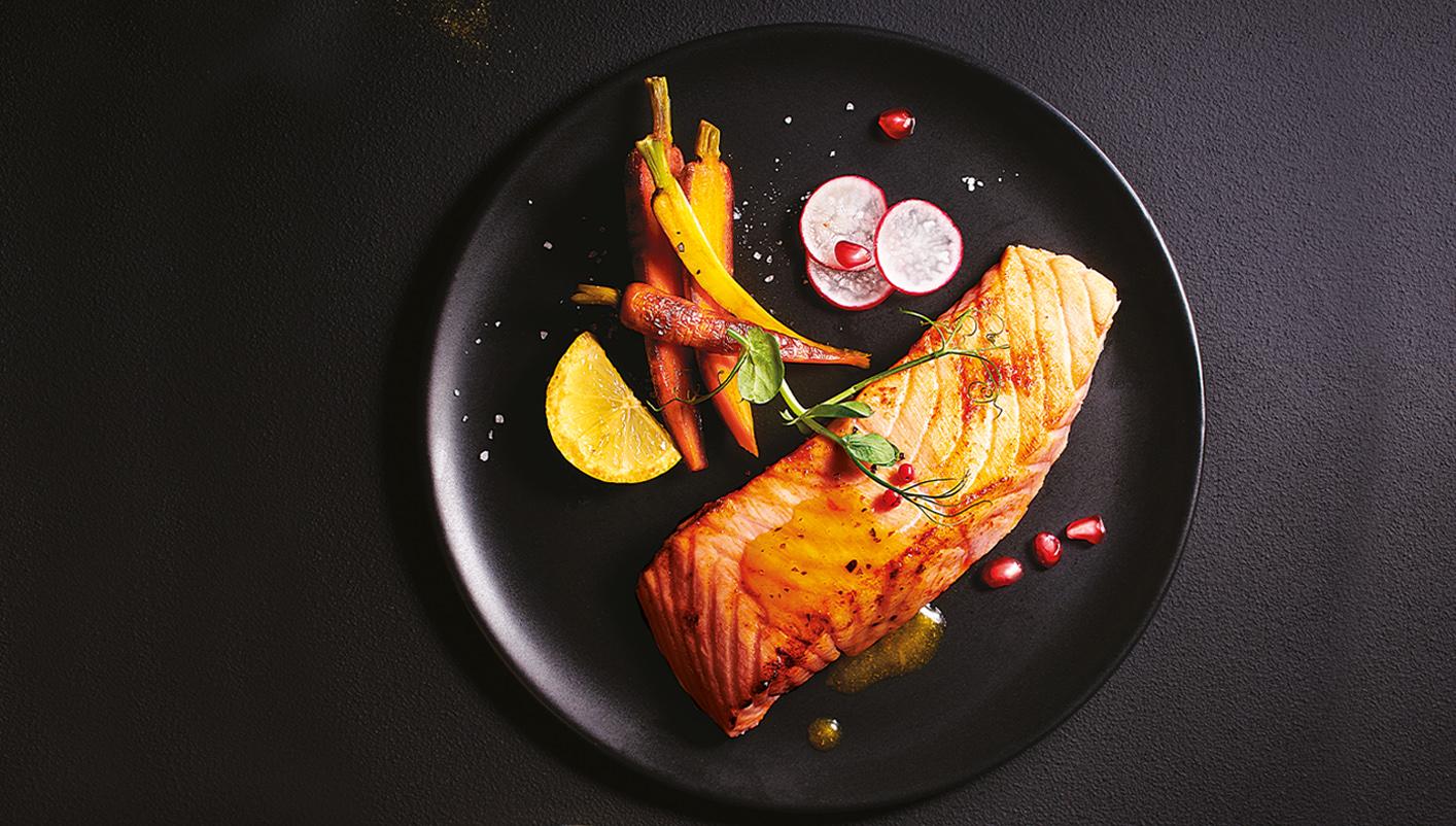 2 Maxi pavés de saumon Atlantique origine Ecosse