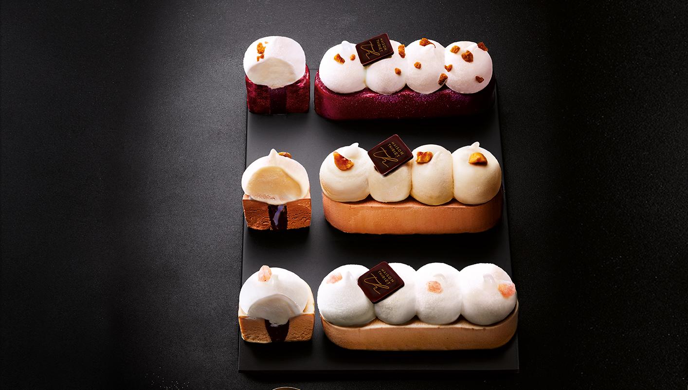 2 Délices marron/vanille