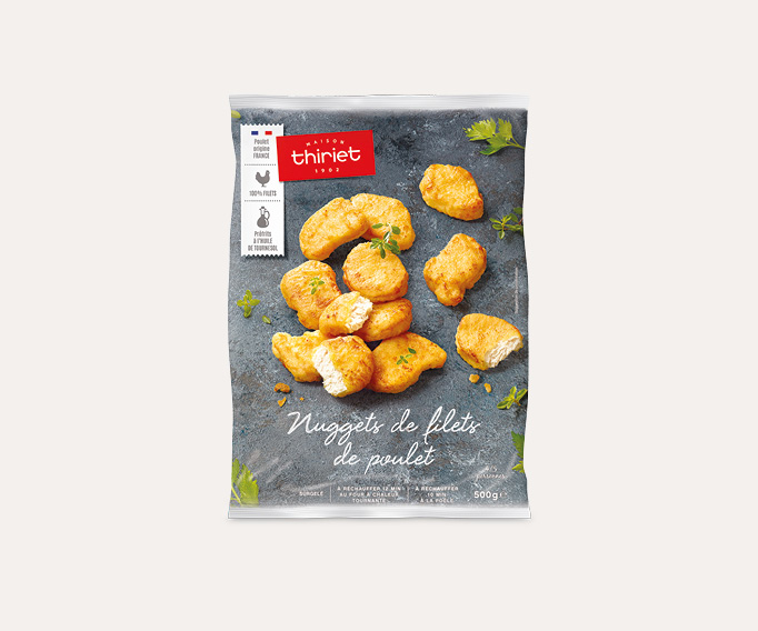 Nuggets de filets de poulet Lot de 2 sachets