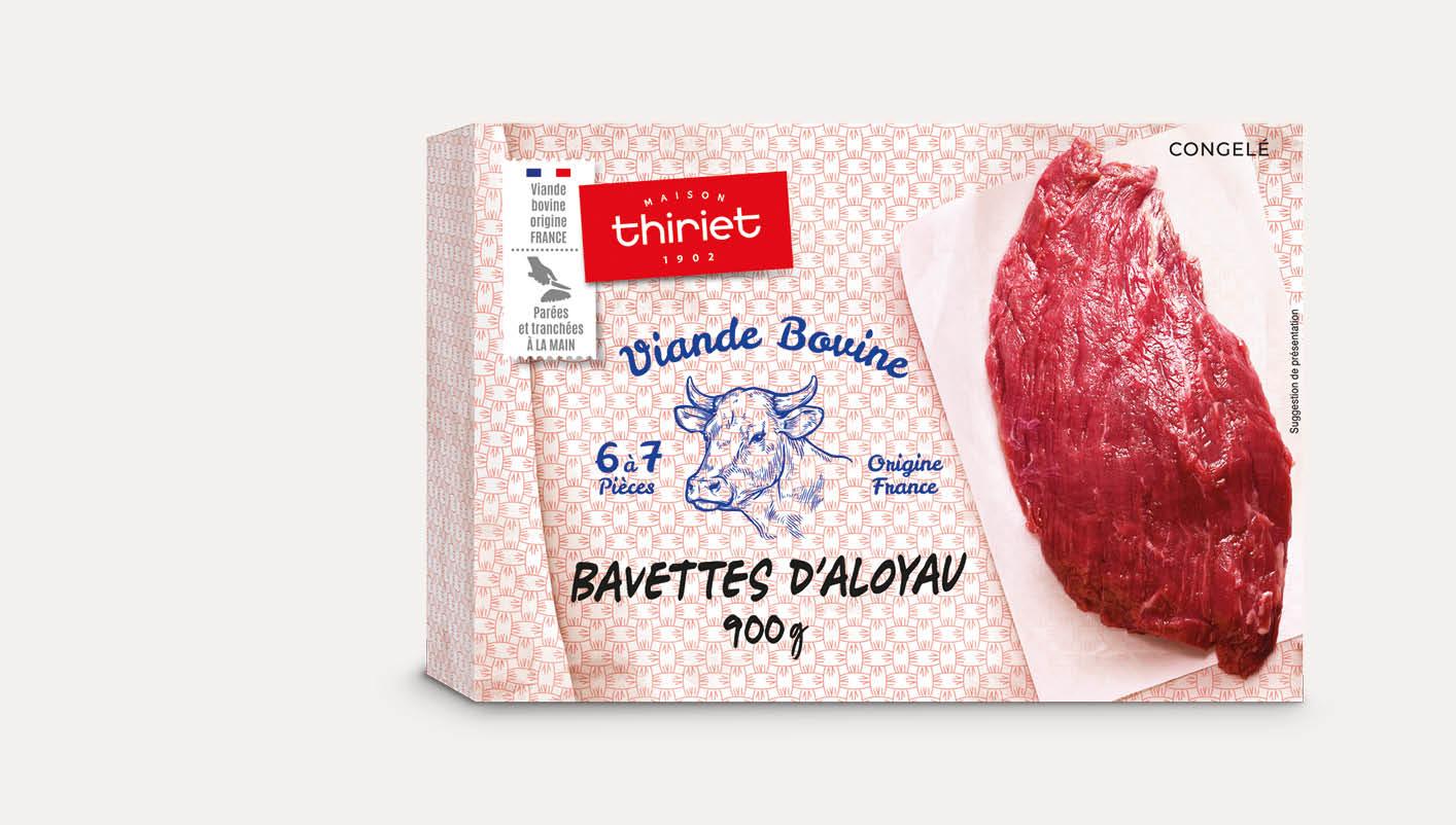 Bavettes d'aloyau à bifteck