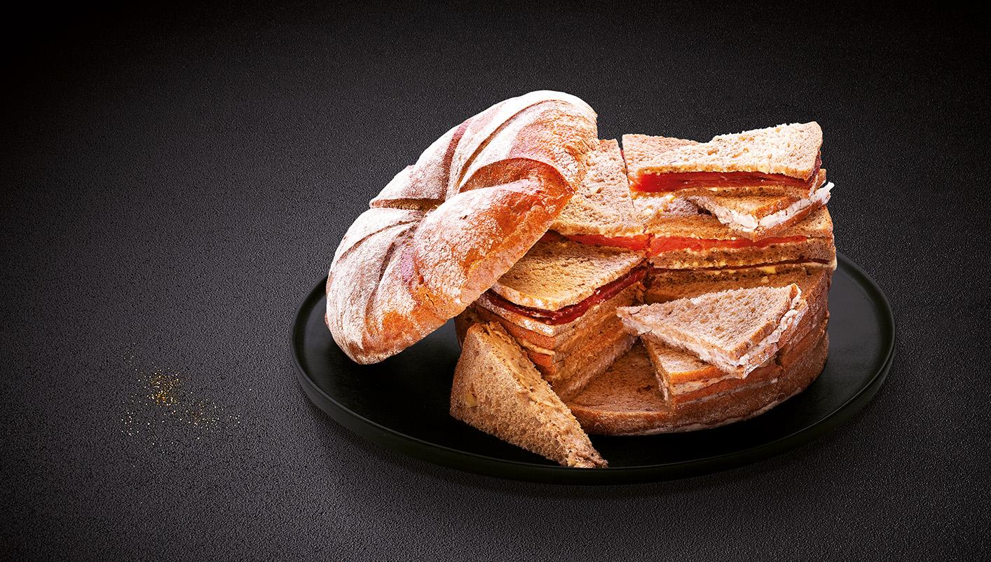 Miche surprise pain spécial aux noix