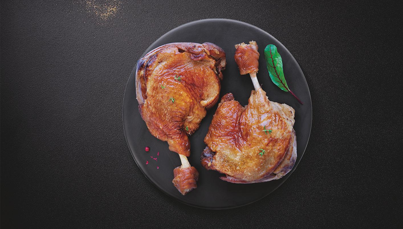 2 Cuisses de canard confites