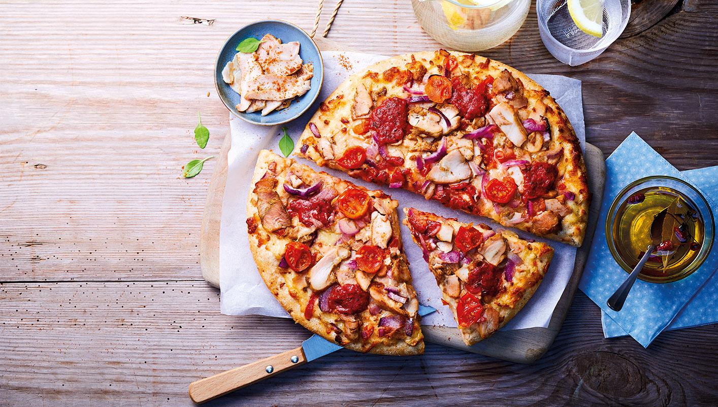 Pizzas pâte épaisse - 2 à 3 parts Lot de 2 boîtes au choix