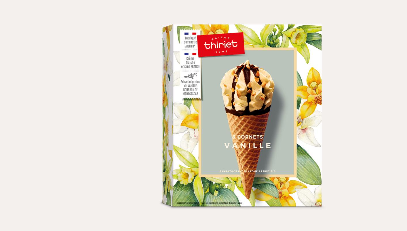 6 Cornets Vanille