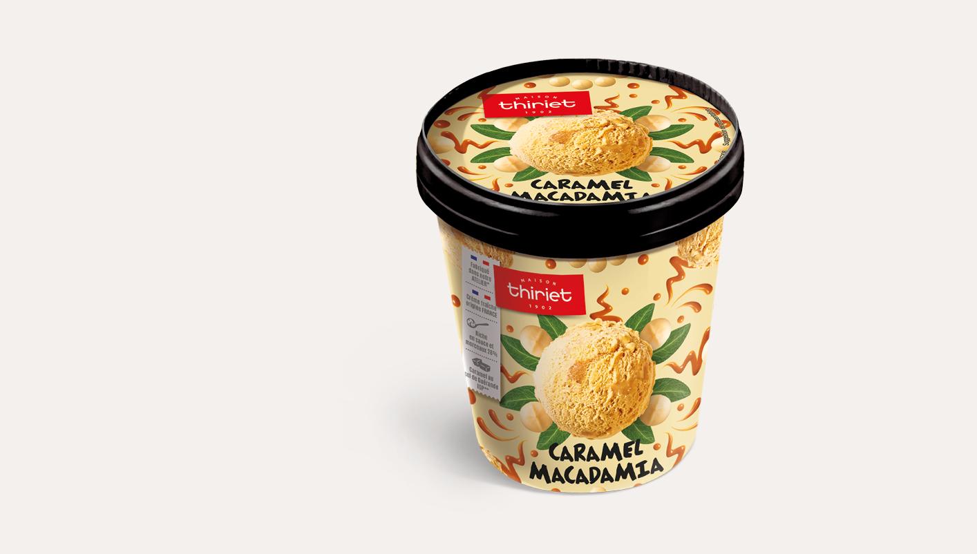 Caramel macadamia
