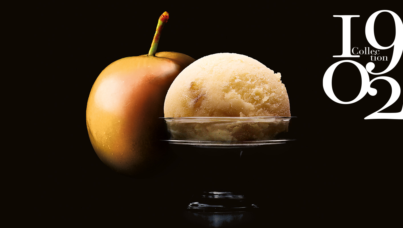 Sorbet Plein Fruit Mirabelle de Lorraine IGP* 67% de fruit