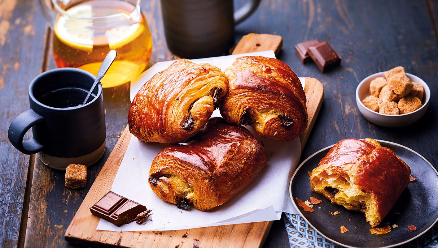 8 Pains au chocolat - pur beurre Charentes-Poitou AOP*
