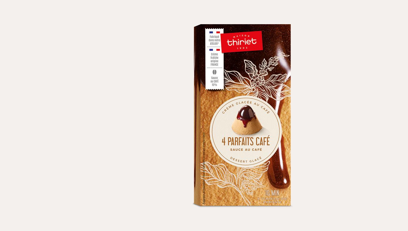4 Parfaits café