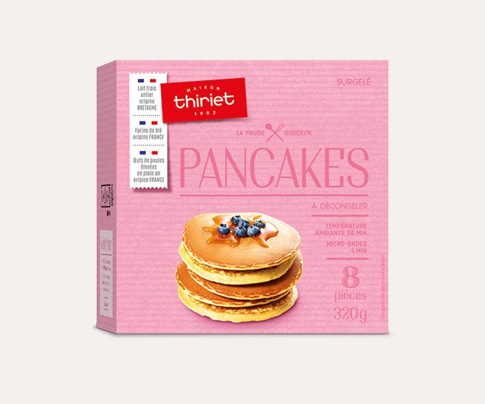 8 Pancakes Lot de 2 boîtes