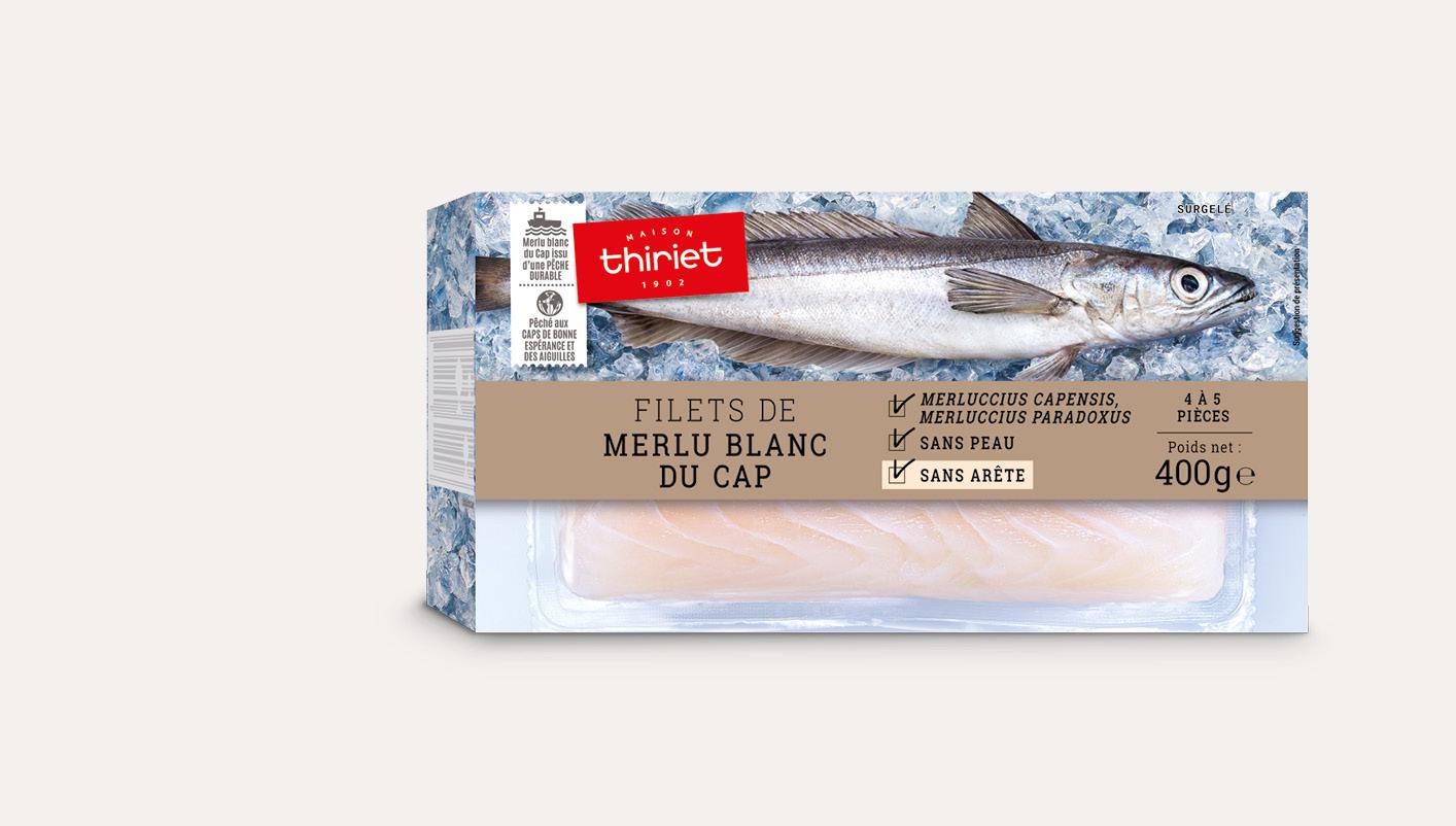 Filets de merlu blanc du Cap