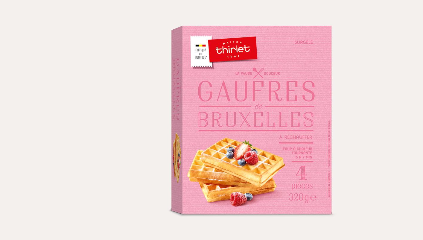 4 Gaufres de Bruxelles