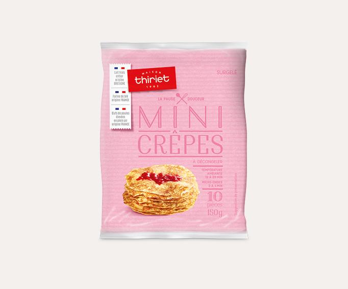 10 Mini crêpes