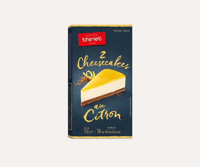 2 Cheesecakes citron