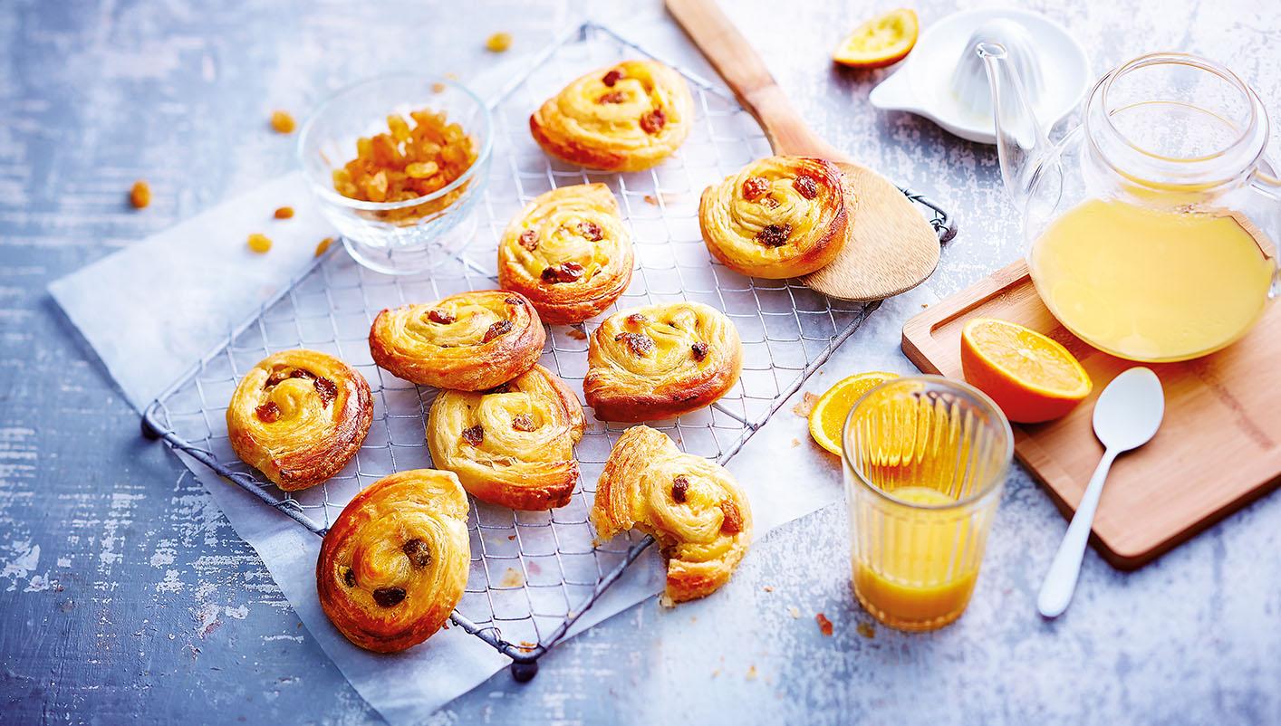10 Mini pains aux raisins - pur beurre Charentes-Poitou AOP*