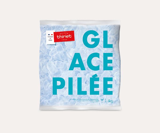 Glace pilée