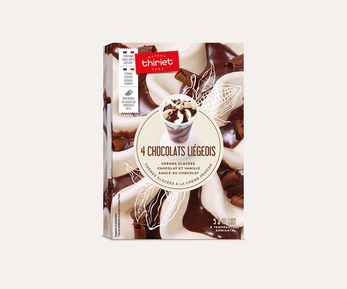 4 Chocolats liegeois