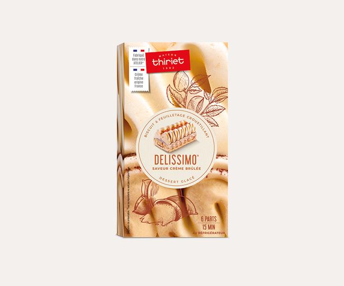 Delissimo™ saveur crème brûlée
