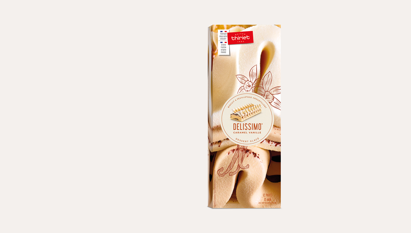 Delissimo™ caramel/vanille