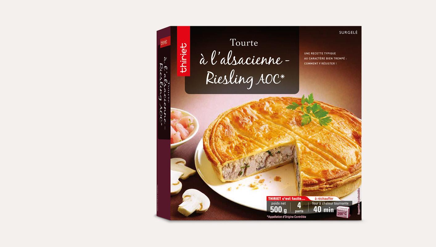 Tourte à l'alsacienne - Riesling AOC*