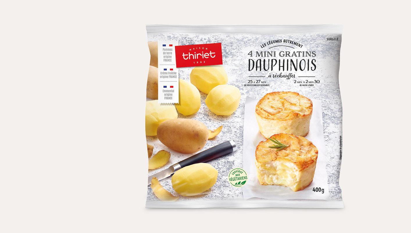 4 Mini gratins dauphinois