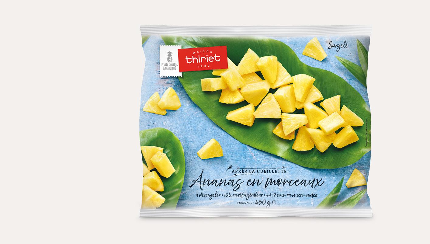 Ananas en morceaux