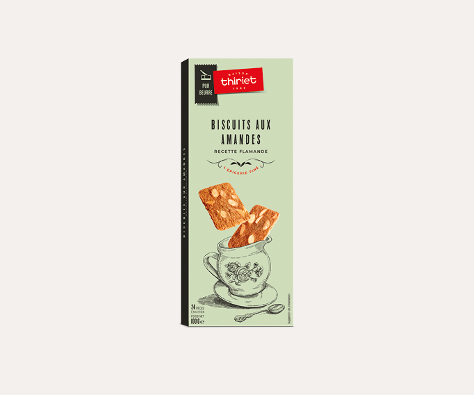 Biscuits aux amandes recette flamande