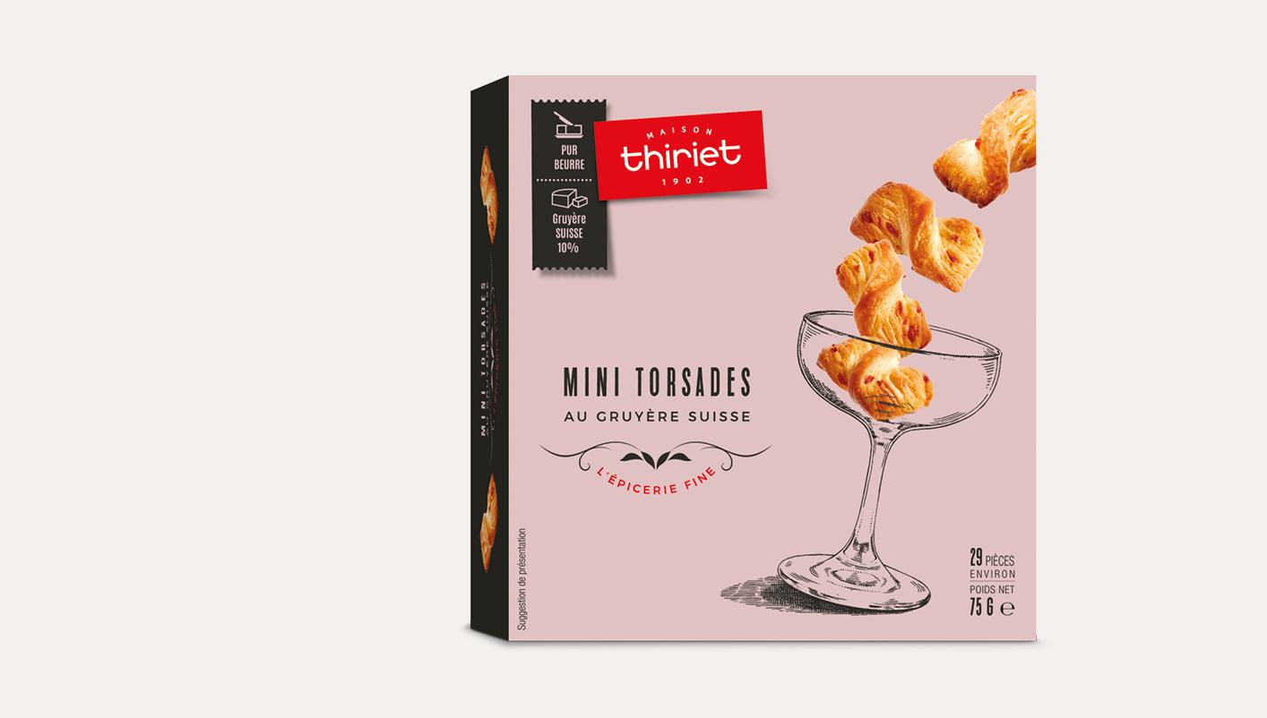 Mini torsades apéritives