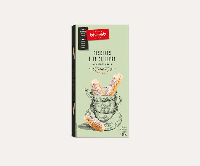 Biscuits à la cuillère aux œufs frais
