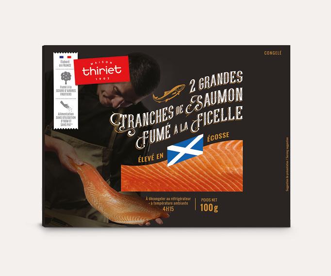 Saumon Atlantique fumé à la ficelle - Ecosse